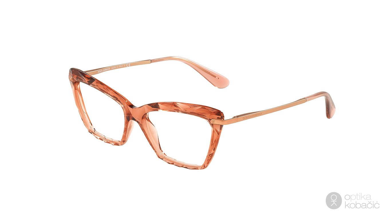 Dolce & Gabbana 5025 3148 Transparente Pink u veličini 53