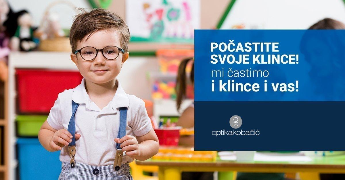 Dječje Dioptrijske naočale akcija