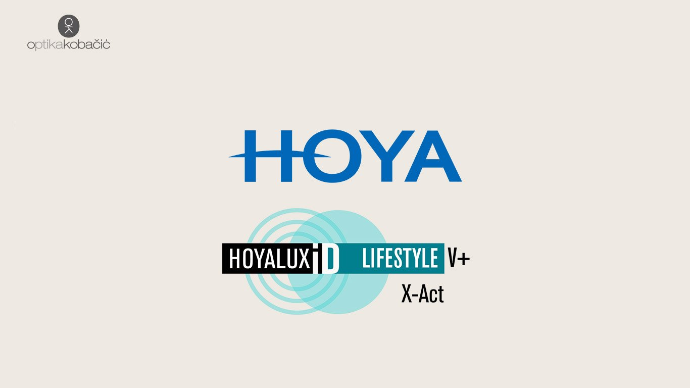 Hoya Hoyalux ID LIFESTYL V+ X-act