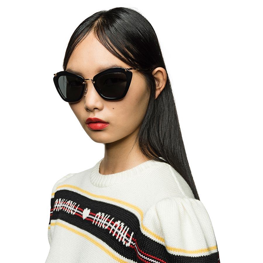 Miu Miu Noir Eyewear