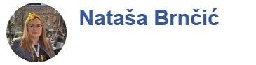 Nataša Brnčić Facebook ocjena