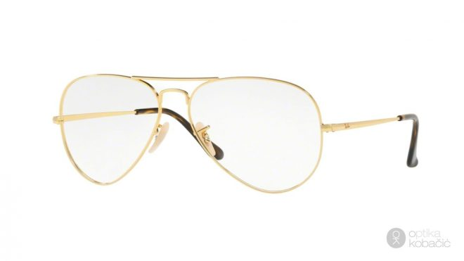 Ray Ban Aviator RX6489 2500 Gold