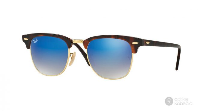 Ray-Ban Clubmaster Flash Lenses Gradient 3016 9907Q