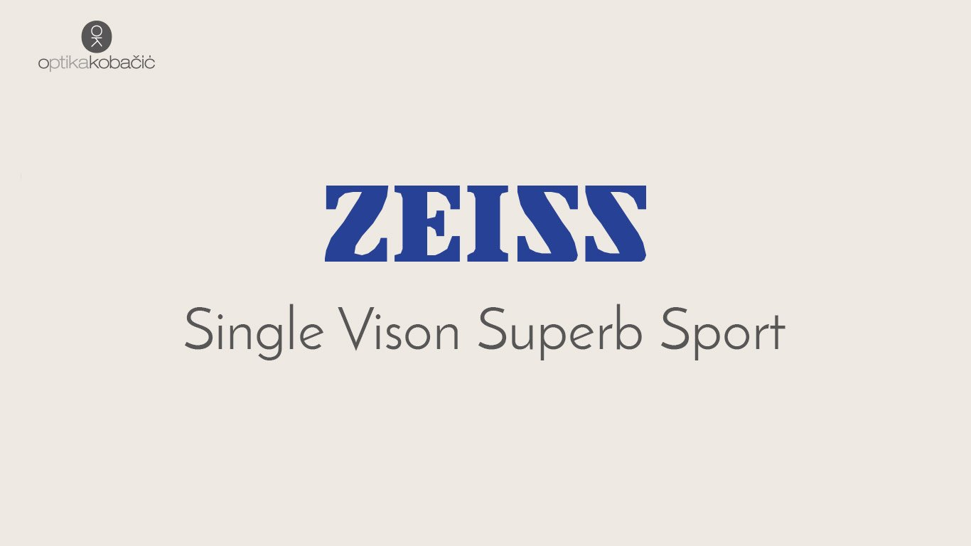 Zeiss Single Vison Superb Sport