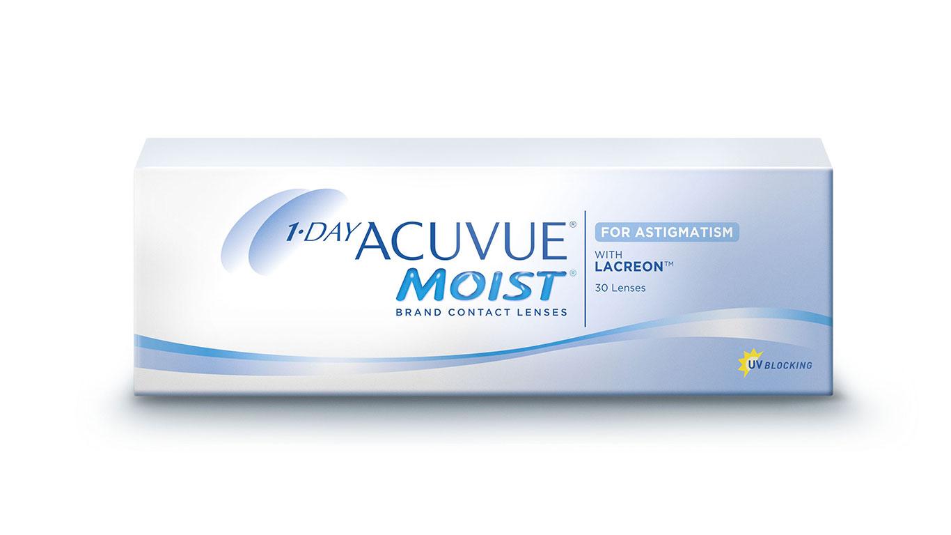 1 day Acuvue Moist Astigmatizam