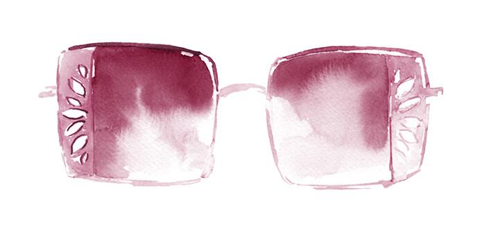 Kvadratne Naočale